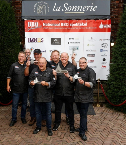 2019 Nederlands Kampioen Dutch BBQ team